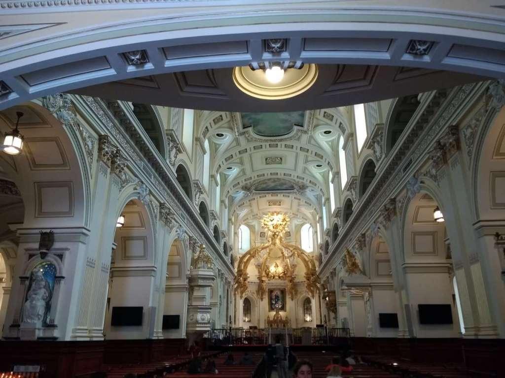 Inside Notre Dame de Quebec