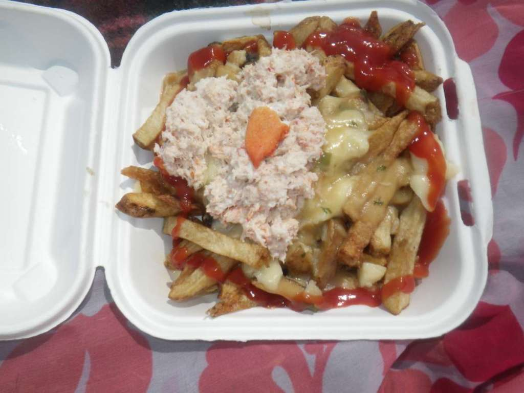 Lobster poutine at Chip Shack