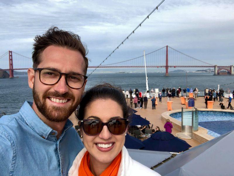 Kelley & Andrew onboard