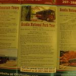 Acadia National Park tour info
