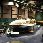 Baddeck hydrofoil in Graham Bell museum