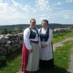 Highland village actors