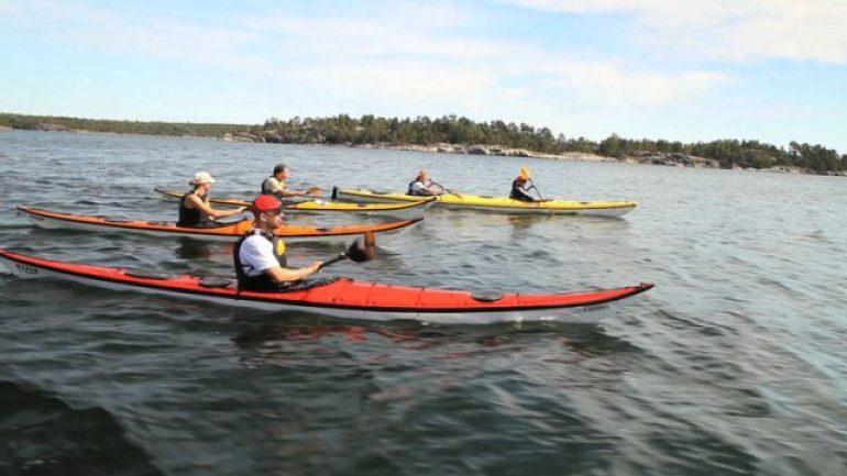 Kayaking in Stockholm Archipelago 2