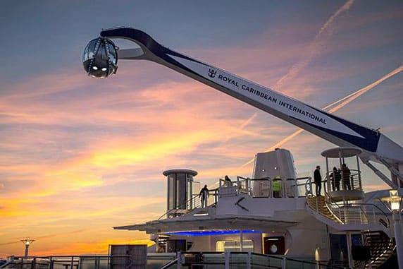 ROYAL CARIBBEAN CRUISES - NORTHSTAR CAPSULE (SELECT SHIPS