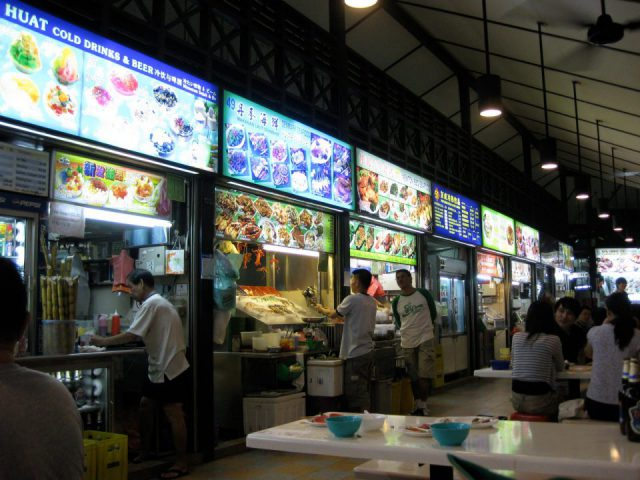 Street Side stalls Singapore