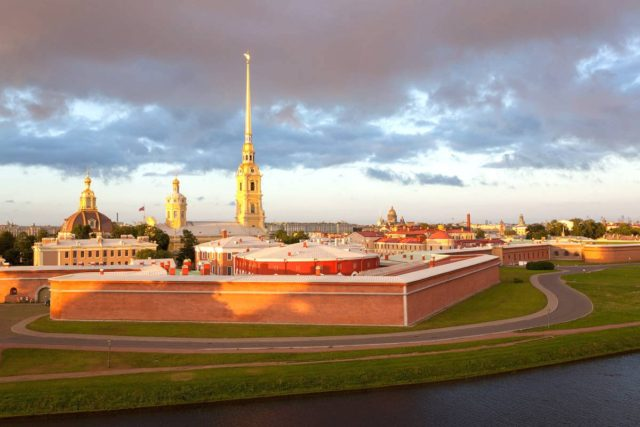 Fortress Petropavlovskaya