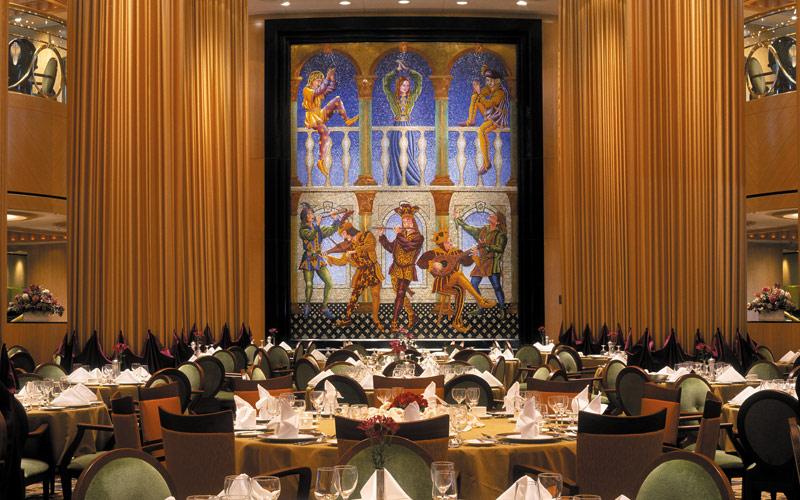 Royal Caribbean Brilliance of the Seas dining room