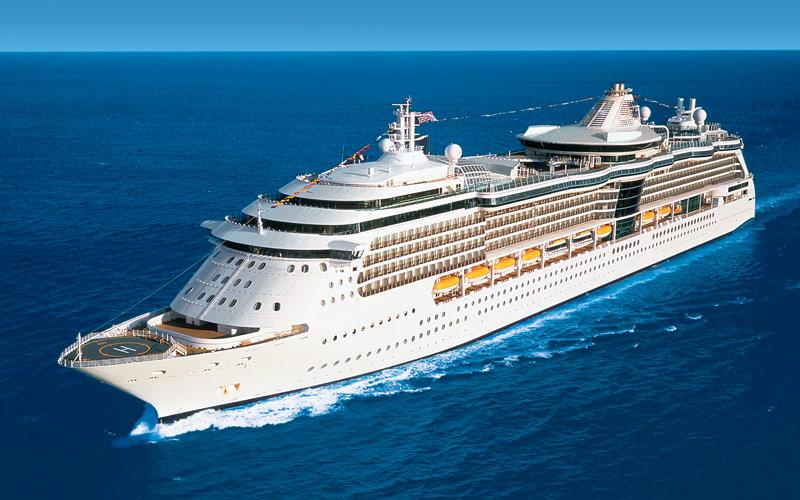 Royal Caribbean Brilliance of the Seas exterior