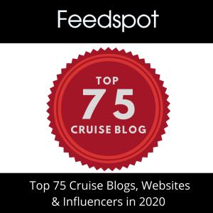 Feedspot top 75 Cruise Blogs