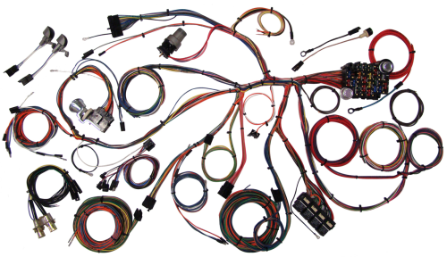 small resolution of 1967 1968 chevrolet camaro classic update complete wiring kit