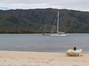 The sand bank aka Observation Island