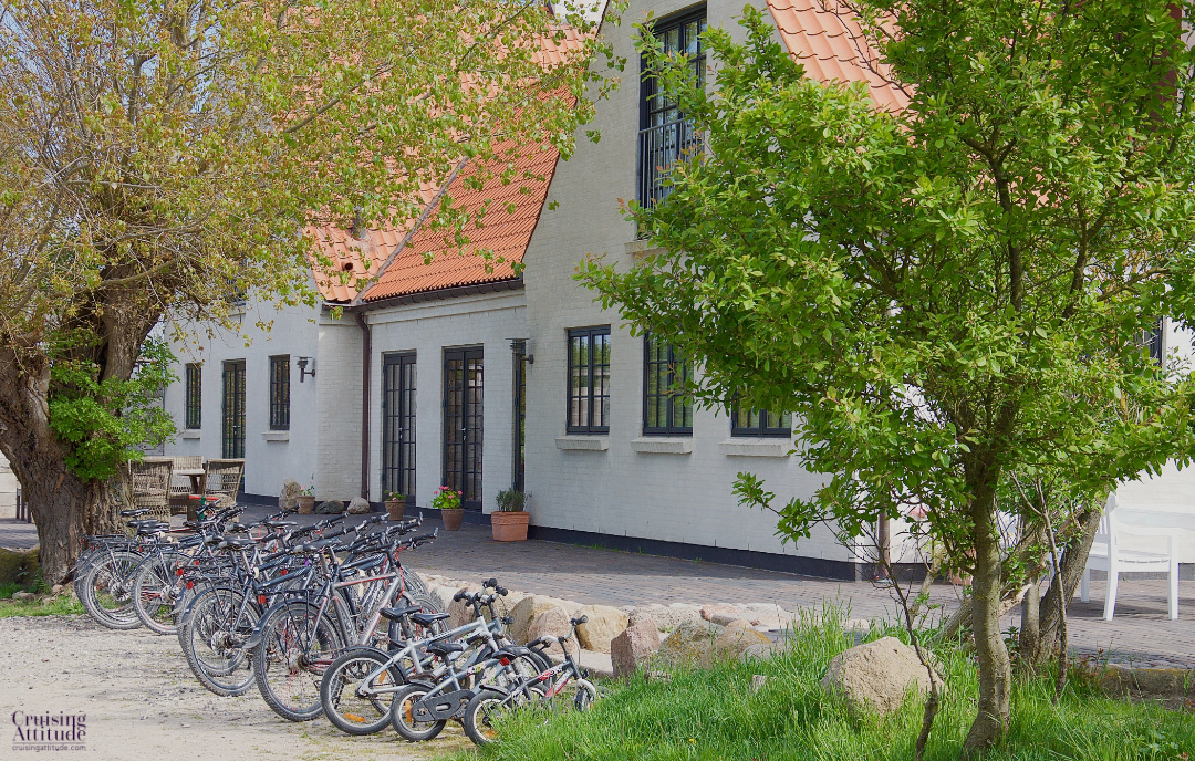 Hotel on the island of Vejrø, Denmark | Cruising Attitude Sailing Blog - Discovery 55