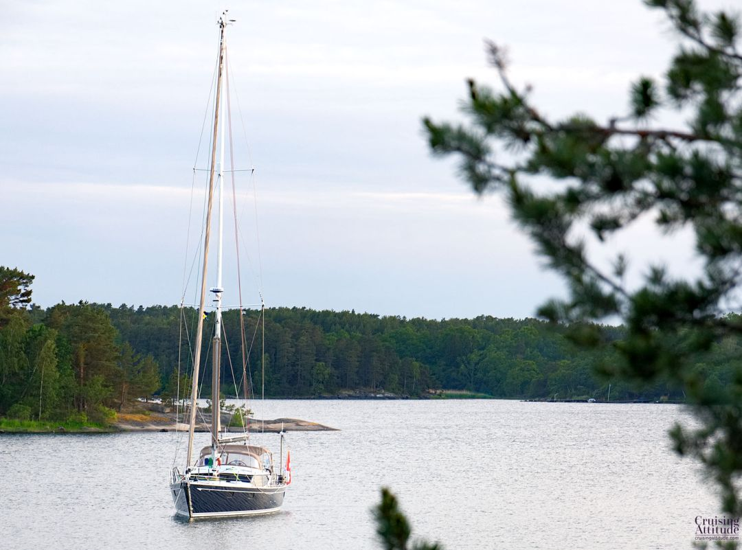 Smågö anchorage | Cruising Attitude Sailing Blog - Discovery 55
