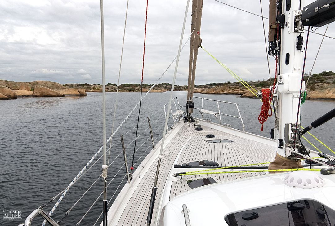 Sailing the Oslofjord - Anchorage of Fredagshølet | Cruising Attitude Sailing Blog | Discovery 55
