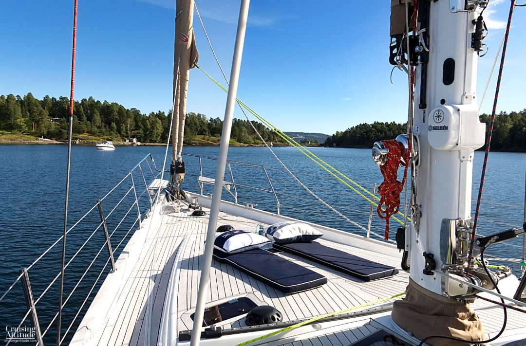 Anchorage near Oslo | Cruising Attitude Sailing Blog | Discovery 55