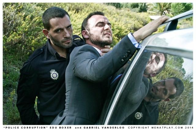 Edu Boxer Gabriel Vanderloo Policia CM-1