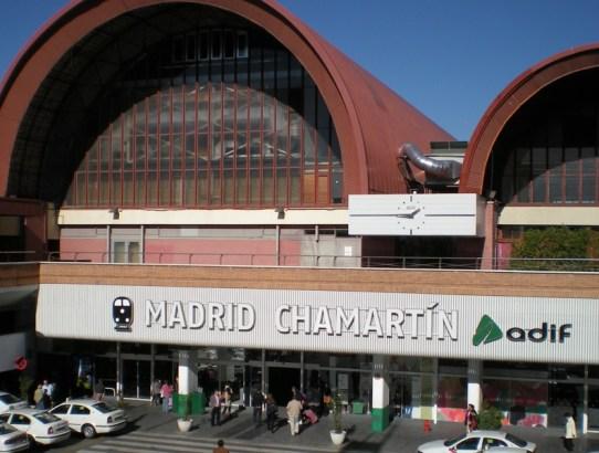 Madrid Centro - Baños Estación de Chamartin