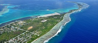 Aerial view Addu city