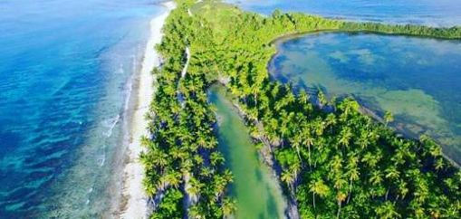 Aerial view Hithadhoo