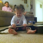 Madyn on guitar