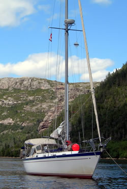 Mary T in Hare Bay Newfoundland