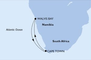 CAPE TOWN to NAMIBIA