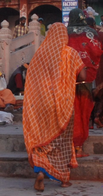 On the banks of the Ganges River, Varanasi, India