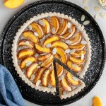 Vegan Peaches and Almond Cream Tart