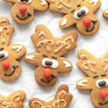 Reindeer Cookies - Featured Image