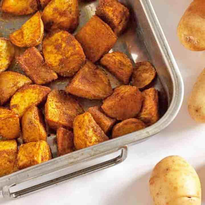 Spiced Cypriot New Potatoes