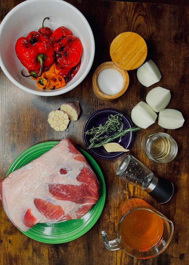 braised pork butt ingredients