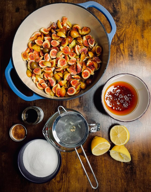 fig jam ingredients