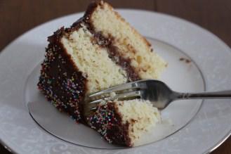 Classic Birthday Cake - Crumbs. Baking Blog