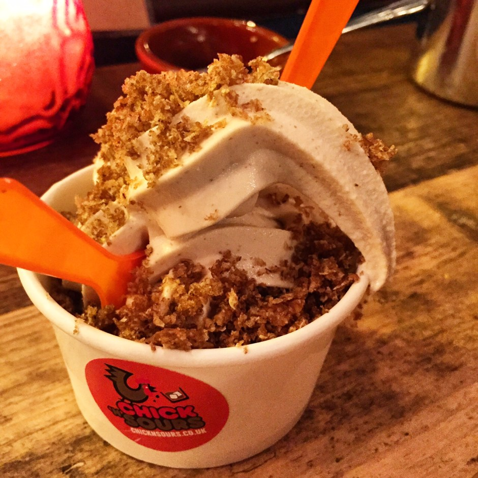 Chick n Sours Ice Cream