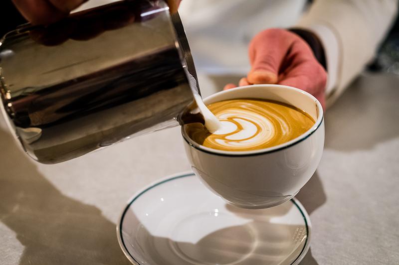 The Ivy Kensington Brasserie coffee
