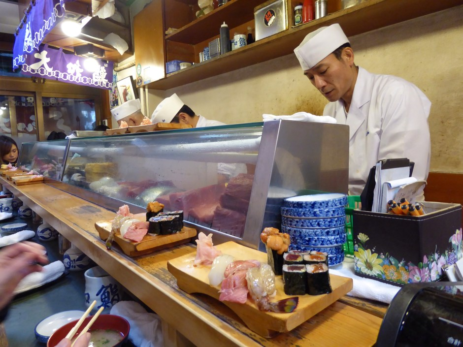 TOP 10 IN TOKYO Tsukiji Fish Market