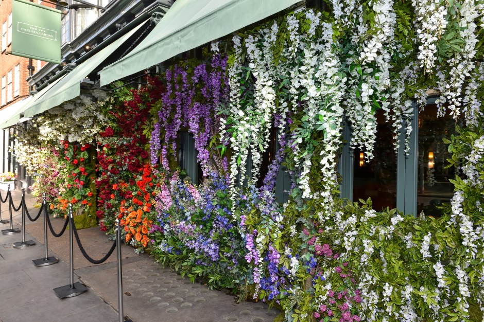 The Ivy Chelsea Garden annual Summer Garden Party in London, UK - 9 May 2017.