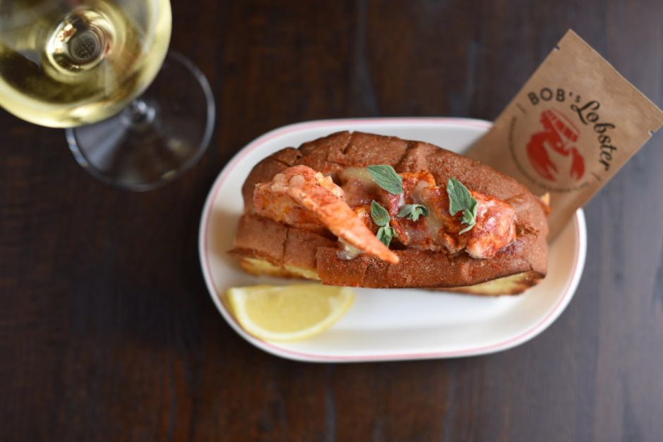 Bob's Lobster & Crayfish Roll
