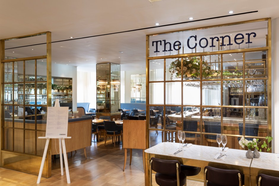 The Corner Restaurant, Selfridges London