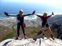 Abseil down Table Mountain