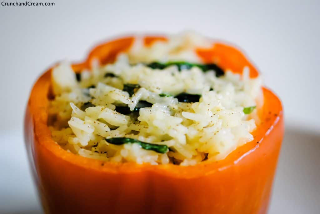 microwave stuffed peppers for one
