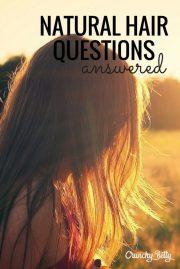 natural hair questions