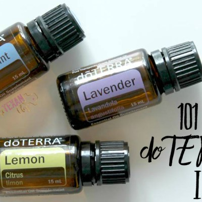 101 Uses for doTERRA's Intro Kit: Lemon, Lavender, and Peppermint