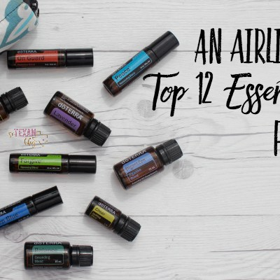 An Airline Pilot's Top 12 Essential Oils for Travel