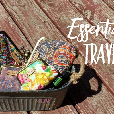 The Cutest Essential Oil Travel Bags