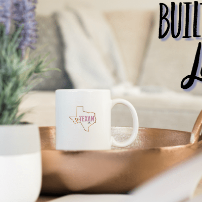 Built with Love– A Series About Building Our Dream Home