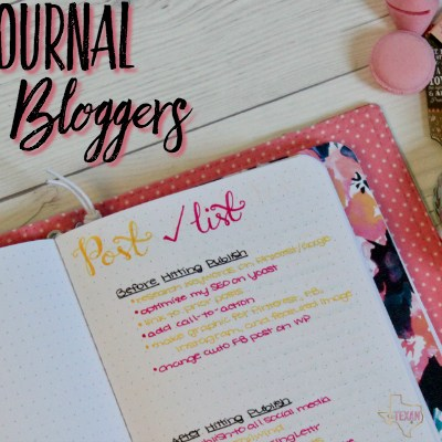 Bullet Journal for Bloggers (Bujo for Bloggers if you're hip)