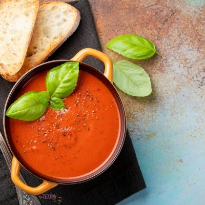 Instant Pot Tomato Basil Parmesan Soup Recipe