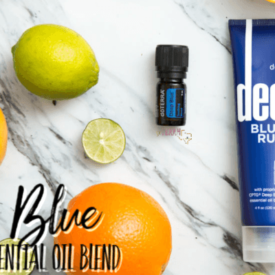 Deep Blue Essential Oil Blend Uses and Benefits