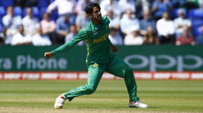 Pakistani Pacer Hasan Ali